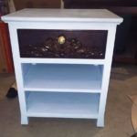 used side table refurbished