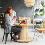 Woman Making Home Decor